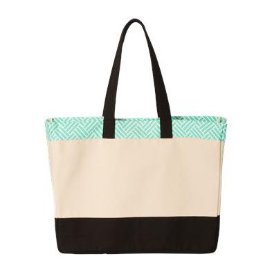 Brookson Bay Patterned Top Beach Tote