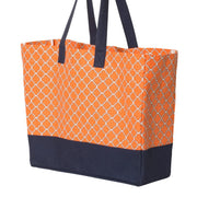 Brookson Bay Full Pattern Beach Tote