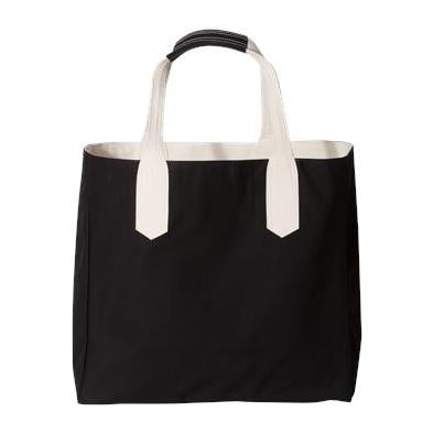 Brookson Bay Solid Tote with Contrast Handles