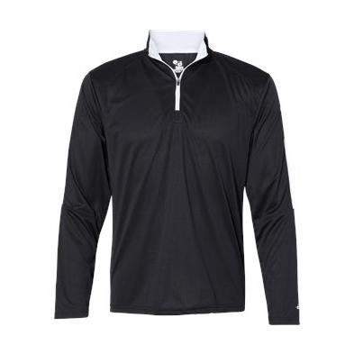 Badger Sideline Quarter Zip Pullover
