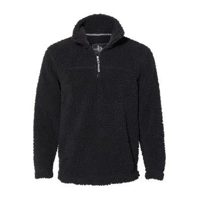 Boxercraft Unisex Sherpa Fleece Quarter Zip Pullover