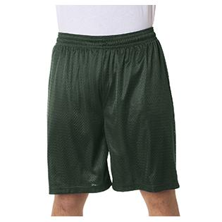 Badger Adult Nine Inch Inseam Mesh/Tricot Short