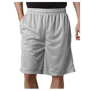 Badger Adult Nine Inch Inseam Mesh/Tricot Short with Pockets