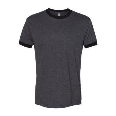 American Apparel Poly Cotton Short Sleeve Ringer T-Shirt