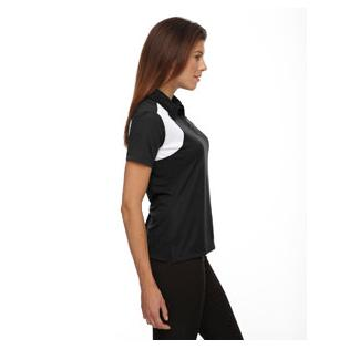 Ash City - Extreme Ladies Eperformance Colorblock Textured Polo