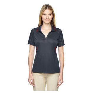 Ash City - Extreme Ladies Eperformance Propel Interlock Polo with Contrast Tape