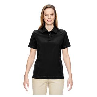 Ash City - North End Ladies Excursion Crosscheck Woven Polo