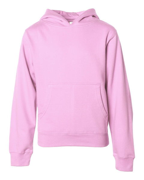 Independent Trading Co Youth Midweight Hooded Pullover Sweatshirt