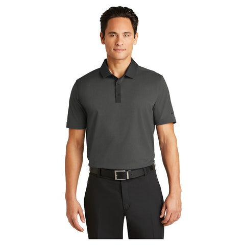 Nike Golf Dri FIT Heather Pique Modern Fit Polo