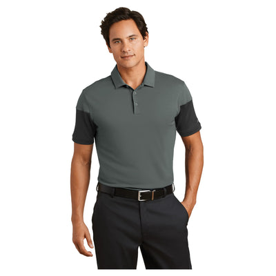 Nike Golf Dri FIT Sleeve Colorblock Modern Fit Polo