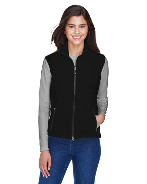 Ash City - North End Ladies Three Layer Light Bonded Performance Soft Shell Vest