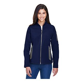 Ash City - North End Ladies Three Layer Fleece Bonded Soft Shell Technical Jacket