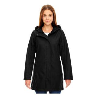 Ash City - North End Ladies City Textured Three Layer Fleece Bonded Soft Shell Jacket