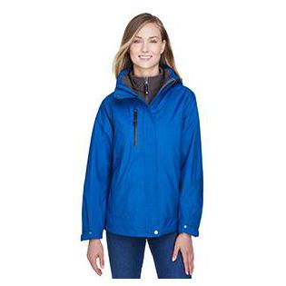 Ash City - North End Ladies Caprice 3 in 1 Jacket with Soft Shell Liner