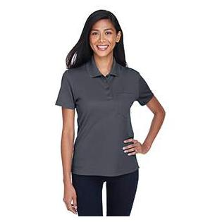 Ash City - Core 365 Ladies Origin Performance Piqu Polo with Pocket