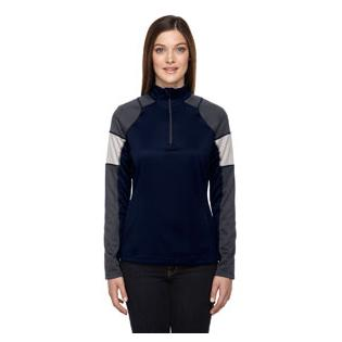 Ash City - North End Ladies Quick Performance Interlock Quarter Zip