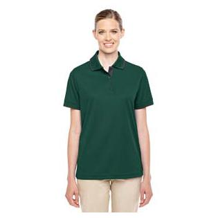 Ash City - Core 365 Ladies Motive Performance Pique Polo with Tipped Collar