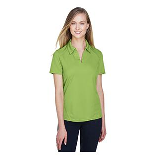 Ash City - North End Sport Red Ladies Recycled Polyester Performance Piqu Polo