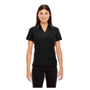 Ash City - North End Sport Red Ladies Sonic Performance Polyester Piqu Polo