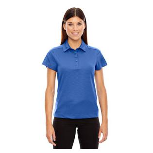Ash City - North End Sport Red Ladies Symmetry UTK Cool.Logik Coffee Performance Polo