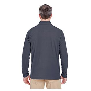 UltraClub Adult Cool & Dry Quarter Zip Microfleece