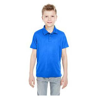 UltraClub Youth Cool & Dry Mesh Piqu Polo