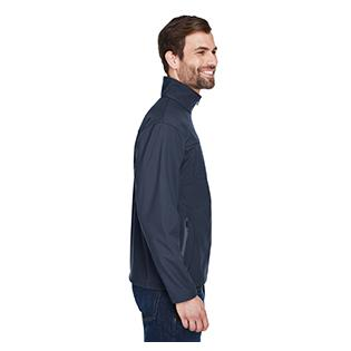 UltraClub Adult Ripstop Soft Shell Jacket with Cadet Collar