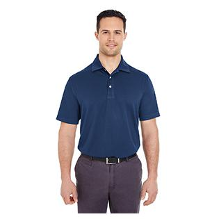 UltraClub Mens Platinum Performance Jacquard Polo with TempControl Technology