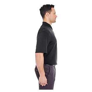 UltraClub Mens Platinum Performance Birdseye Polo with TempControl Technology