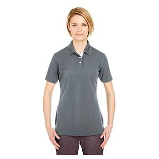 UltraClub Ladies Platinum Performance Birdseye Polo with TempControl Technology