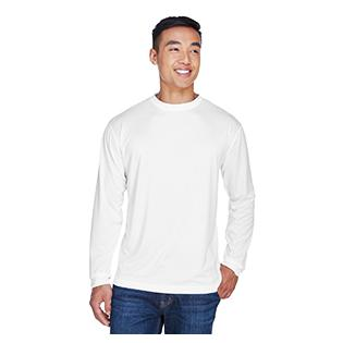 UltraClub Adult Cool & Dry Sport Long Sleeve T-Shirt
