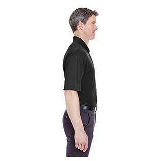 UltraClub Adult Cool & Dry Sport Polo with Pocket
