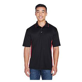 UltraClub Mens Cool & Dry Sport Two Tone Polo