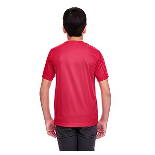UltraClub Youth Cool & Dry Sport Performance Interlock T-Shirt