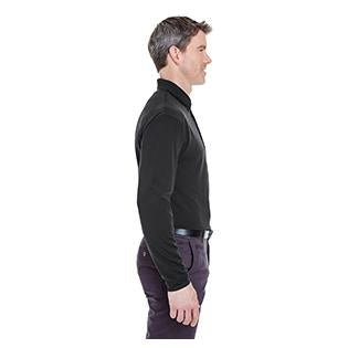 UltraClub Adult Cool & Dry Long Sleeve Stain Release Performance Polo