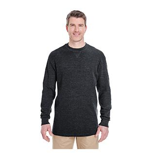 UltraClub Adult Mini Thermal Crewneck