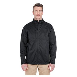 UltraClub Mens Solid Soft Shell Jacket