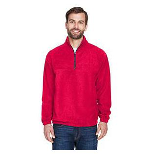 UltraClub Adult Iceberg Fleece Quarter Zip Pullover