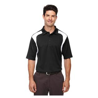 Ash City - Extreme Mens Eperformance Colorblock Textured Polo