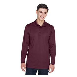 Ash City - Extreme Mens Eperformance Snag Protection Long Sleeve Polo