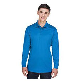 Ash City - Extreme Mens Tall Eperformance Snag Protection Long Sleeve Polo