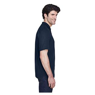 UltraClub Mens Tall Classic Piqu Polo