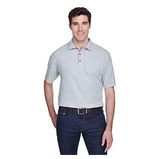UltraClub Mens Tall Whisper Piqu Polo