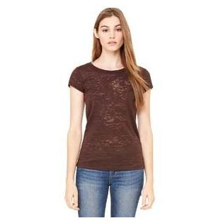 Bella + Canvas Ladies Burnout Short Sleeve T-Shirt