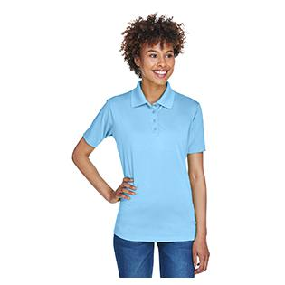UltraClub Ladies Cool & Dry 8 Star Elite Performance Interlock Polo