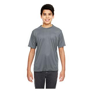 UltraClub Youth Cool & Dry Basic Performance T-Shirt