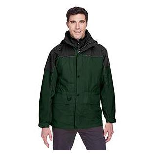 Ash City - North End Adult 3 in 1 Two Tone Parka