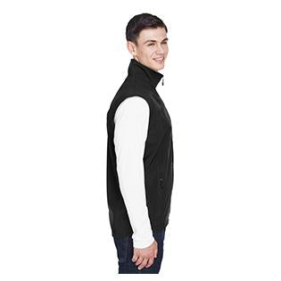 Ash City - North End Mens Three Layer Light Bonded Performance Soft Shell Vest