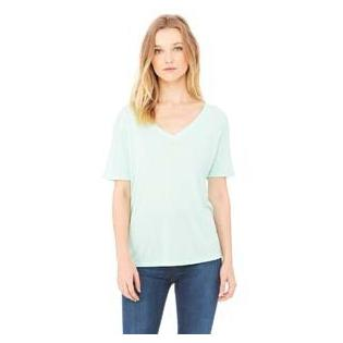 Bella + Canvas Ladies Slouchy V Neck T-Shirt