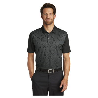 Nike Golf Dri FIT Mobility Camo Polo